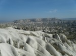 amazing panoramic views over Cappadocia