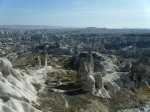 panoramic views over Cappadocia!
