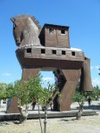 replica (obviously!) of the Trojan horse