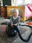 favourite toy, the hoover!